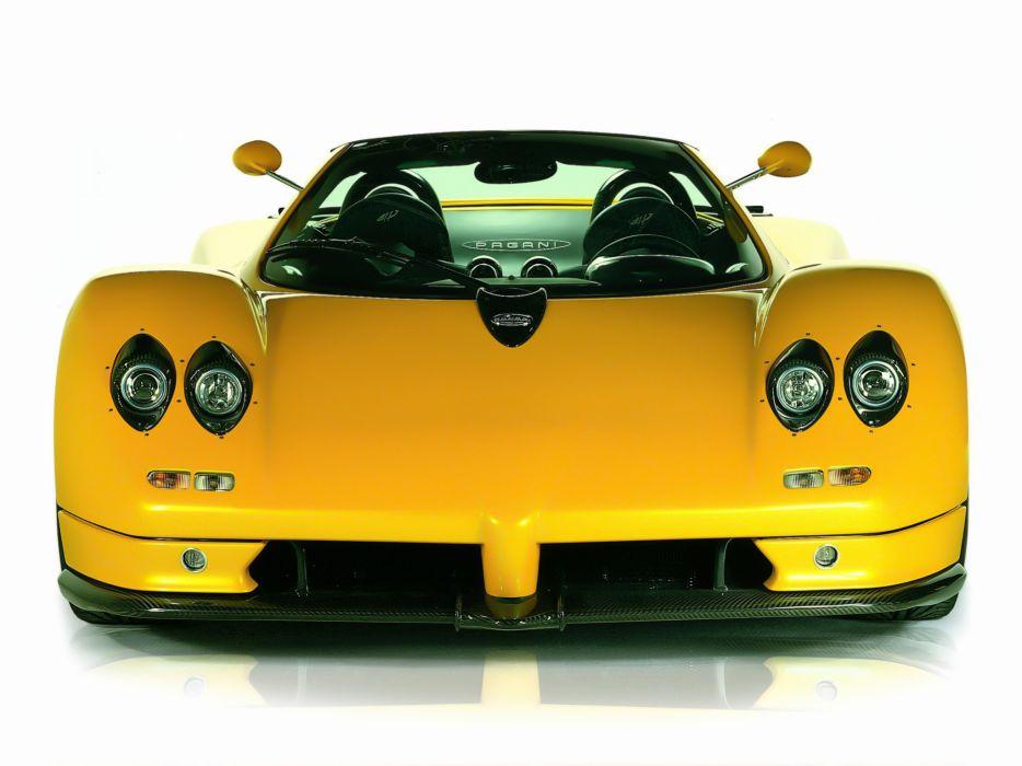 2003 Pagani Zonda Roadster supercar supercars interior wallpaper