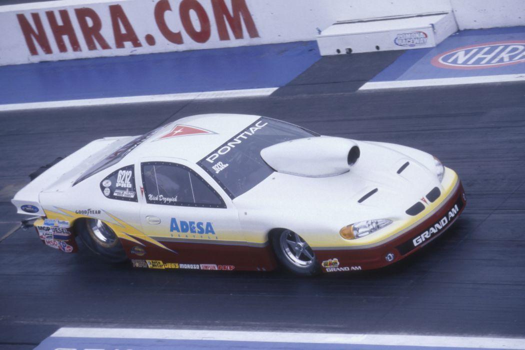 2004 NHRA Pro Stock pro-stock drag race racing hot rod rods  b wallpaper