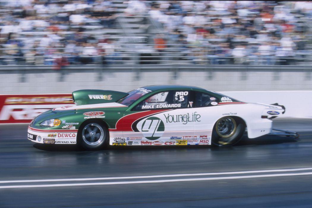 2004 NHRA Pro Stock pro-stock drag race racing hot rod rods  e wallpaper