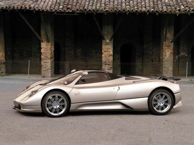 2005 Pagani Zonda C12 S 7_3 Roadster supercars supercar o wallpaper