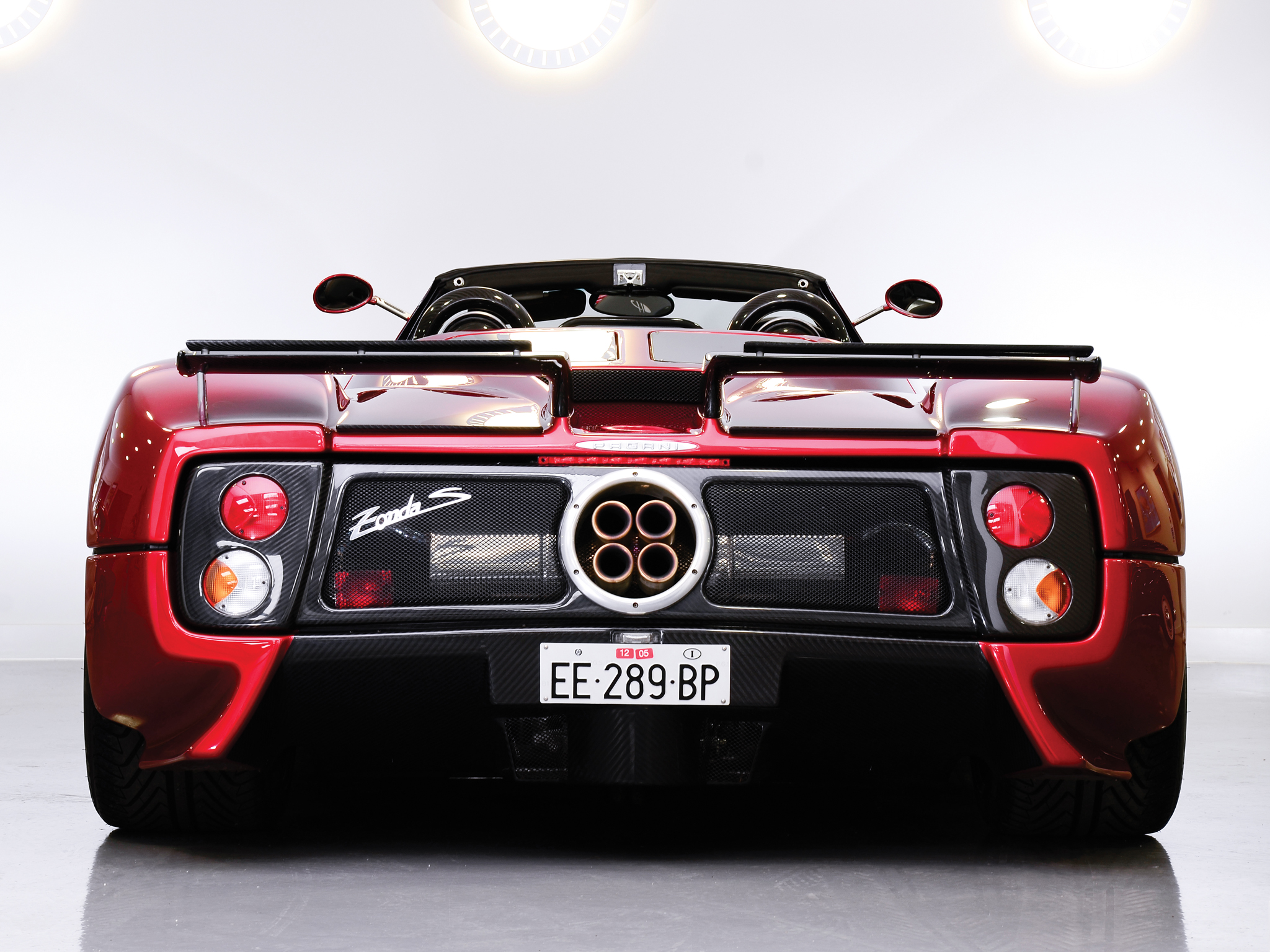 Pagani Zonda S Roadster Supercars Supercar D