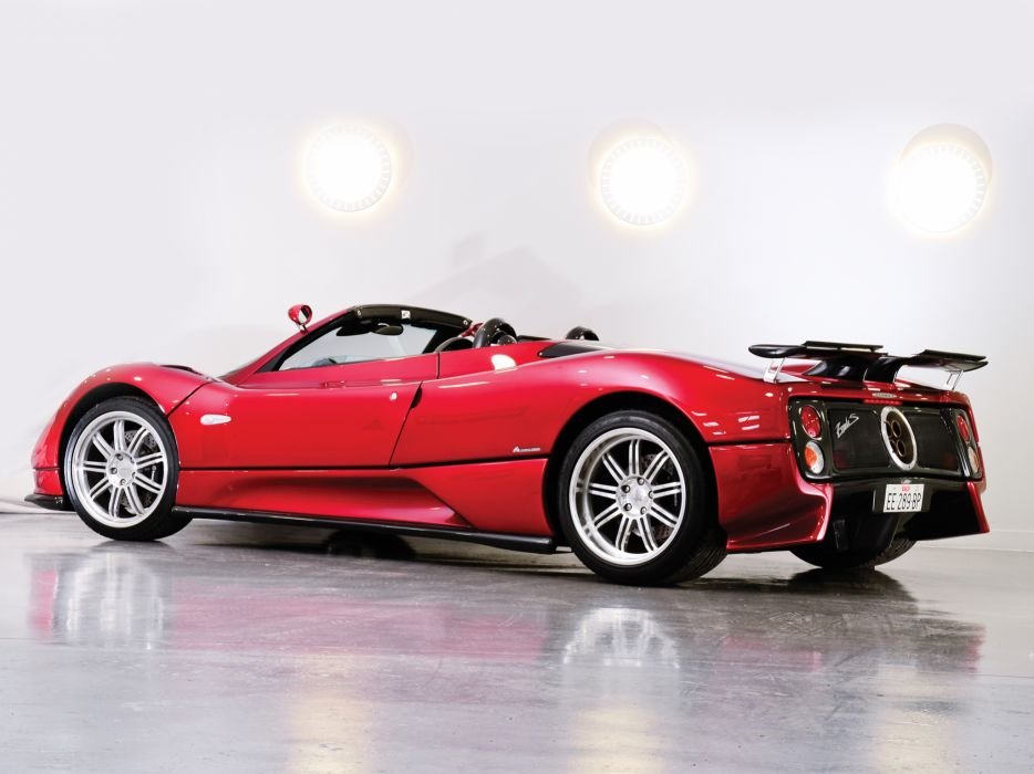 2005 Pagani Zonda C12 S 7_3 Roadster supercars supercar    f wallpaper