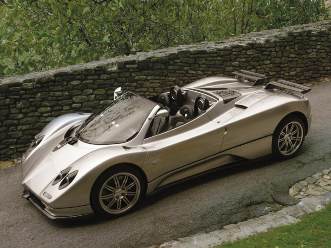 2005 Pagani Zonda C12 S 7_3 Roadster supercars supercar k wallpaper