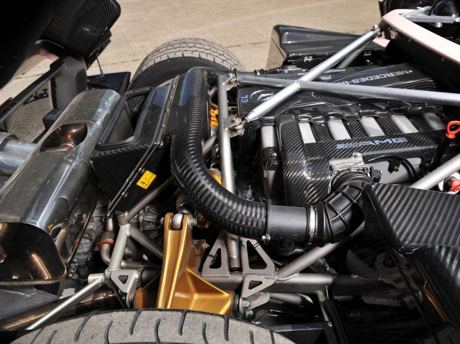2005 Pagani Zonda C12 S 7_3 Roadster supercars supercar engine engines  e wallpaper