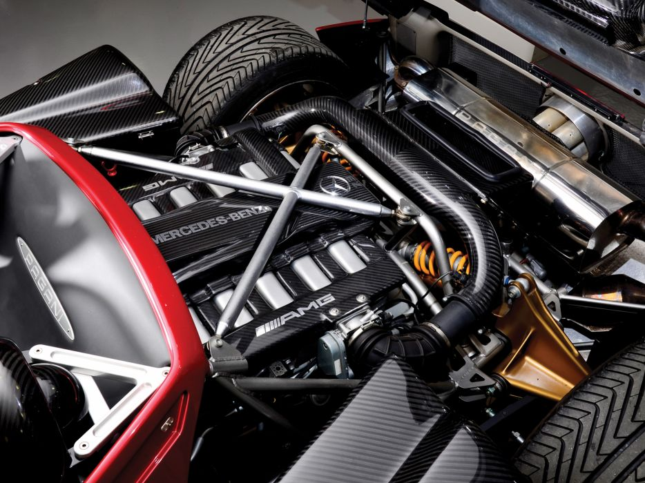2005 Pagani Zonda C12 S 7_3 Roadster supercars supercar engine engines  n wallpaper