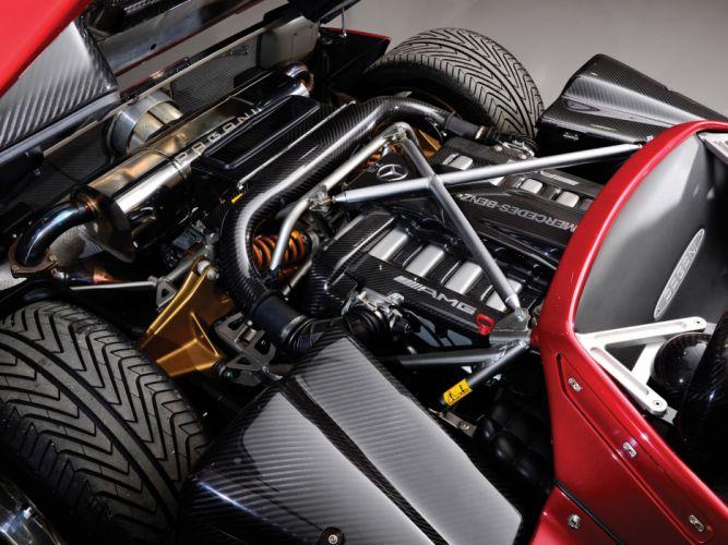 2005 Pagani Zonda C12 S 7_3 Roadster supercars supercar engine engines wallpaper