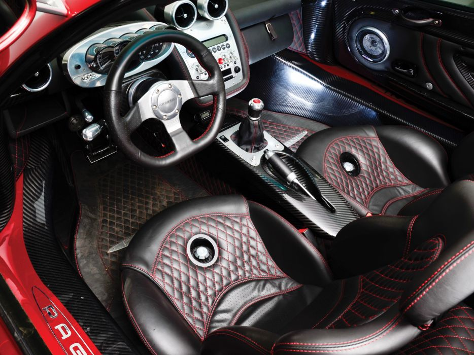 2005 Pagani Zonda C12 S 7_3 Roadster supercars supercar interior wallpaper