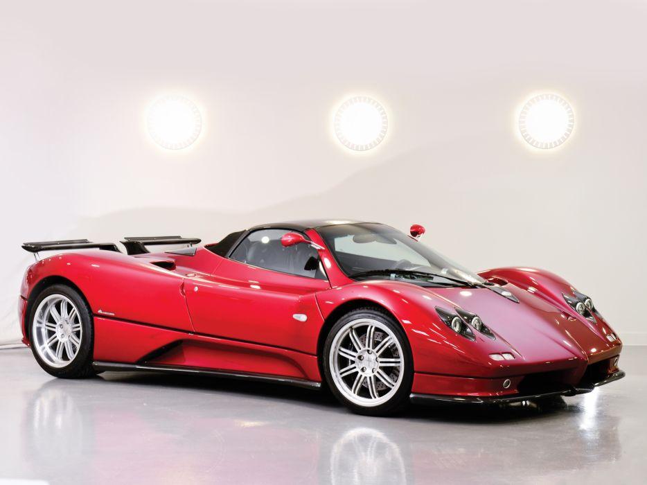 2005 Pagani Zonda C12 S 7_3 Roadster supercars supercar s wallpaper