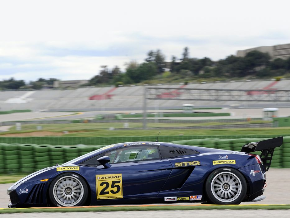 2006 Lamborghini Gallardo GT3 supercar supercars race racing      fg wallpaper