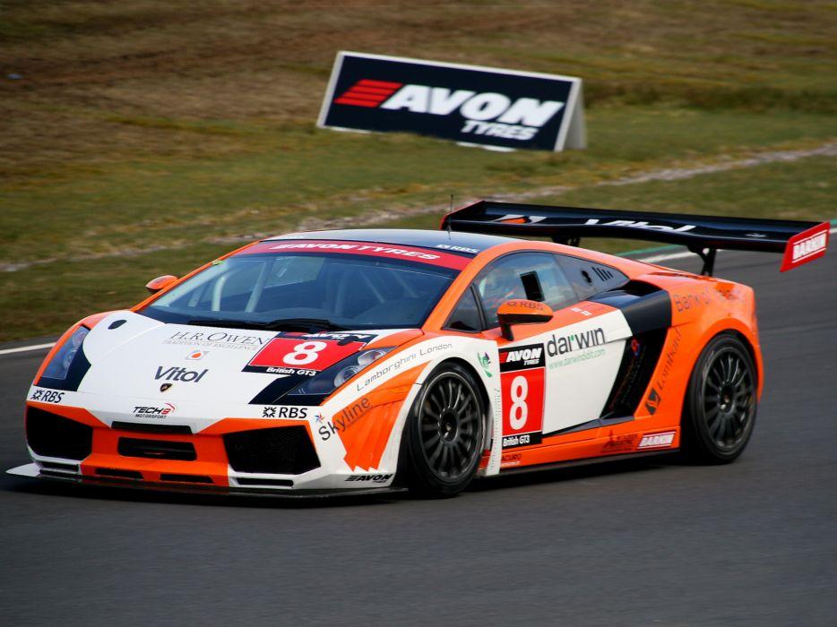 2006 Lamborghini Gallardo GT3 supercar supercars race racing    f wallpaper