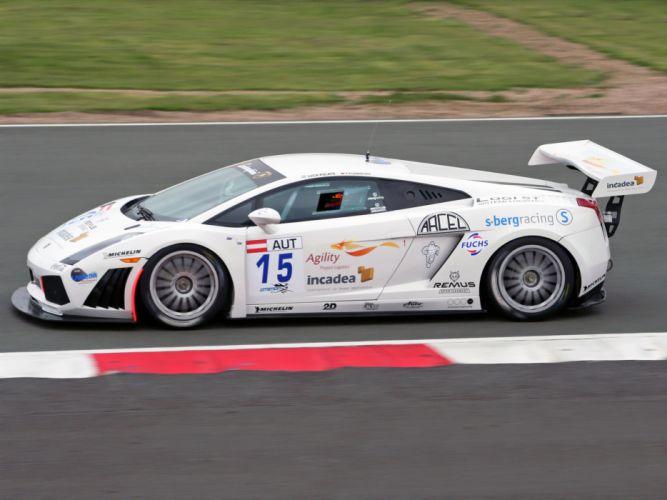 2006 Lamborghini Gallardo GT3 supercar supercars race racing g wallpaper