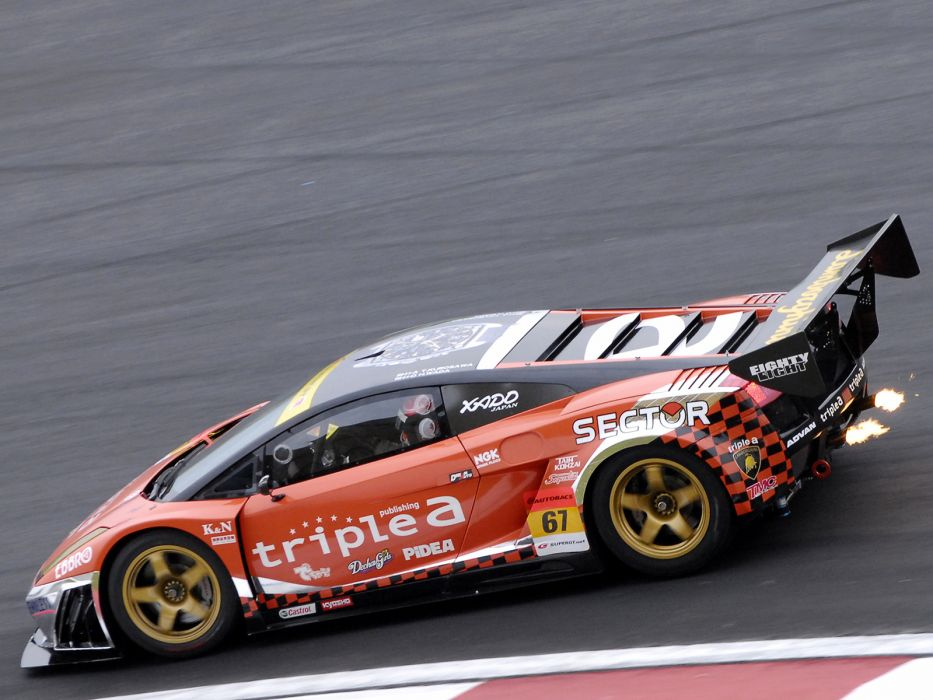 2006 Lamborghini Gallardo GT3 supercar supercars race racing wallpaper