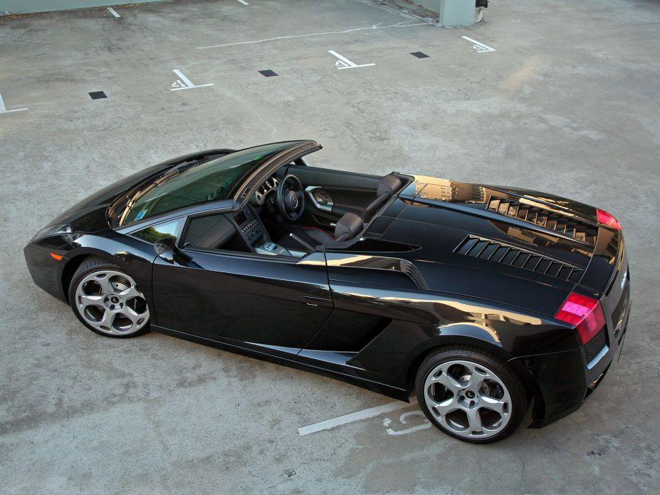 2006 Lamborghini Gallardo Spyder AU-spec supercar supercars  f wallpaper