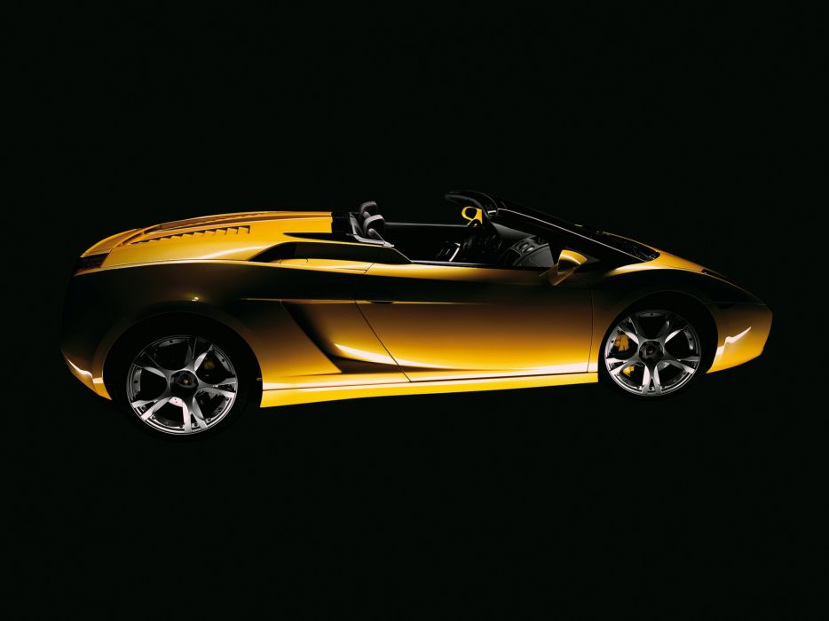 2006 Lamborghini Gallardo Spyder supercar supercars      f wallpaper