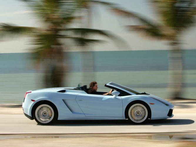 2006 Lamborghini Gallardo Spyder supercar supercars fd wallpaper