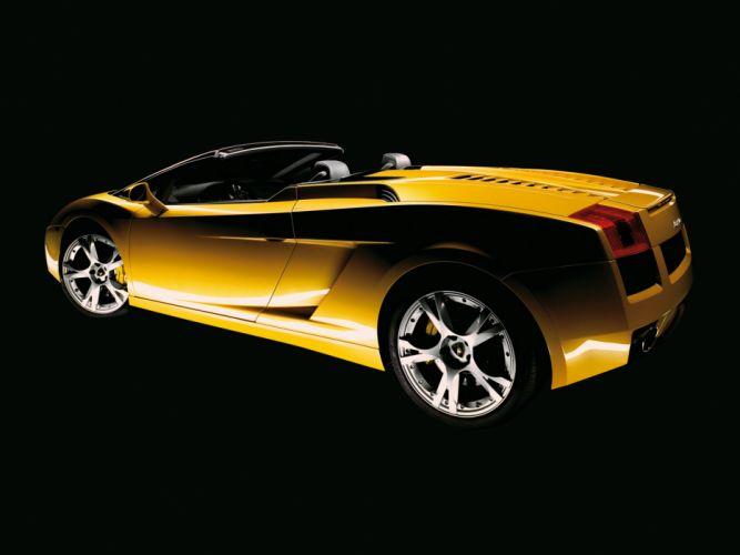 2006 Lamborghini Gallardo Spyder supercar supercars d wallpaper