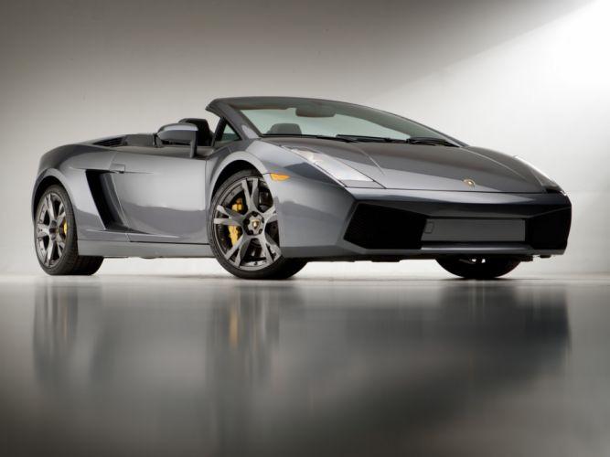 2006 Lamborghini Gallardo Spyder US-spec supercar supercars wallpaper