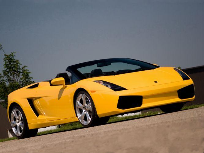 2006 Lamborghini Gallardo Spyder US-spec supercar supercars f wallpaper