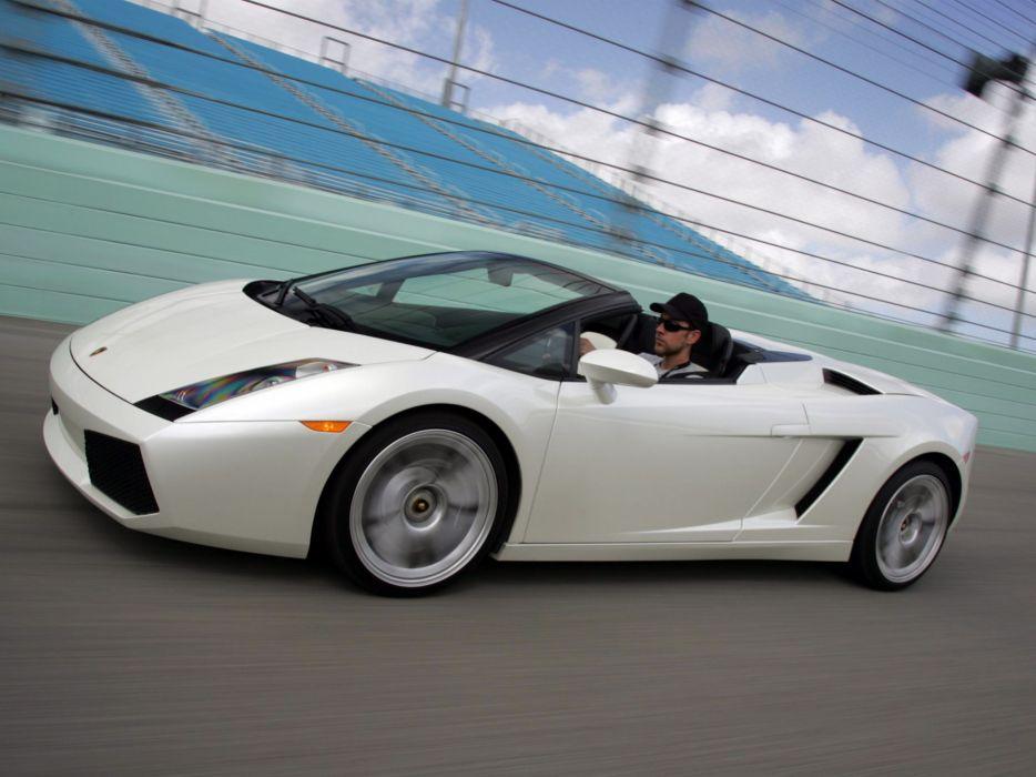 2006 Lamborghini Gallardo Spyder US-spec supercar supercars   d wallpaper