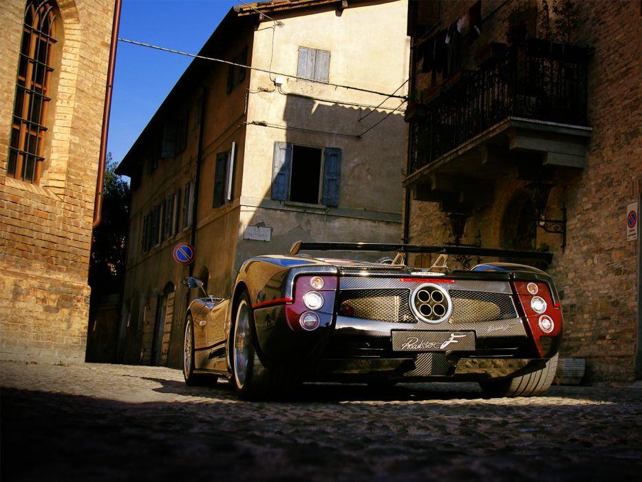 2006 Pagani Zonda Roadster F   a wallpaper
