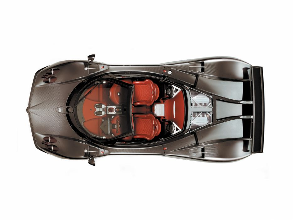 2006 Pagani Zonda Roadster F supercar supercars interio engine engines wallpaper