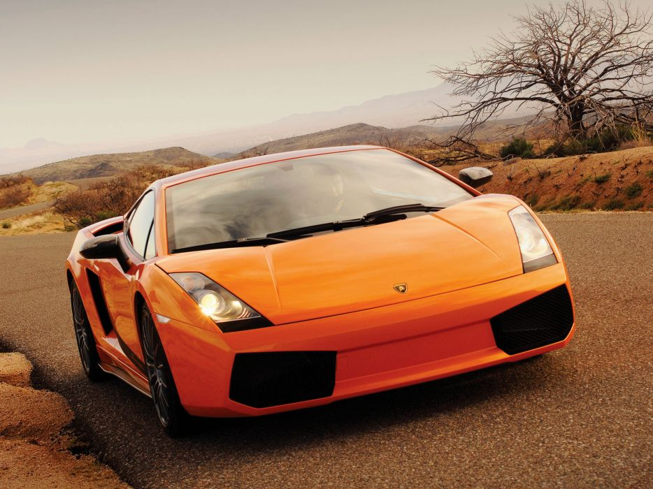 2007 Lamborghini Gallardo Superleggera supercar supercars wallpaper