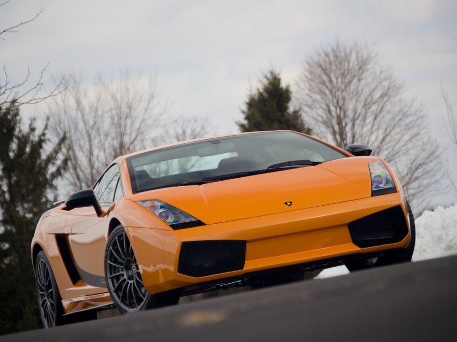2007 Lamborghini Gallardo Superleggera US-spec supercar supercars   f wallpaper