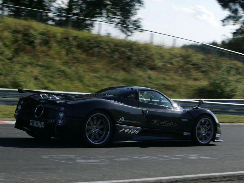 2007 Pagani Zonda F Clubsport supercar supercars   f wallpaper