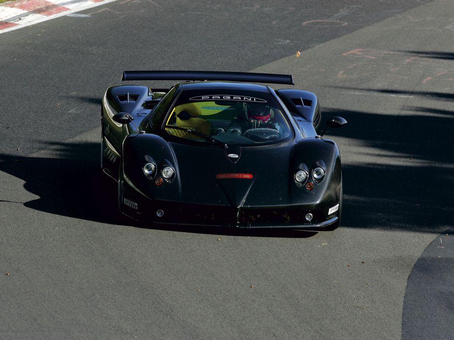 2007 Pagani Zonda F Clubsport supercar supercars wallpaper