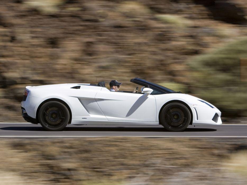 2008 Lamborghini Gallardo LP560-4 Spyder supercar supercars      g wallpaper