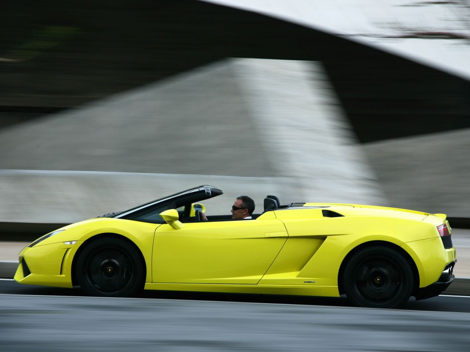 2008 Lamborghini Gallardo LP560-4 Spyder supercar supercars q wallpaper
