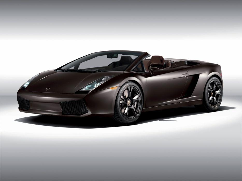 2008 Lamborghini Gallardo Spyder supercar supercars wallpaper