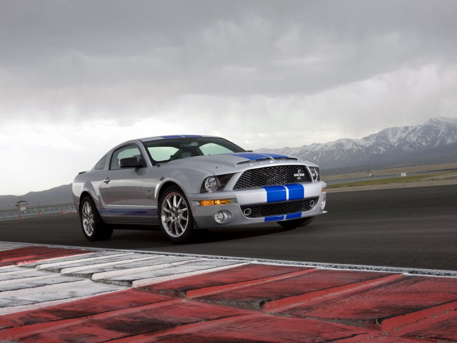 2008 Shelby GT500-KR gt500 ford mustang muscle classic       f wallpaper
