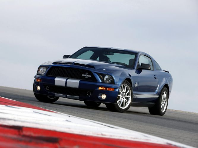2008 Shelby GT500-KR gt500 ford mustang muscle classic fw wallpaper