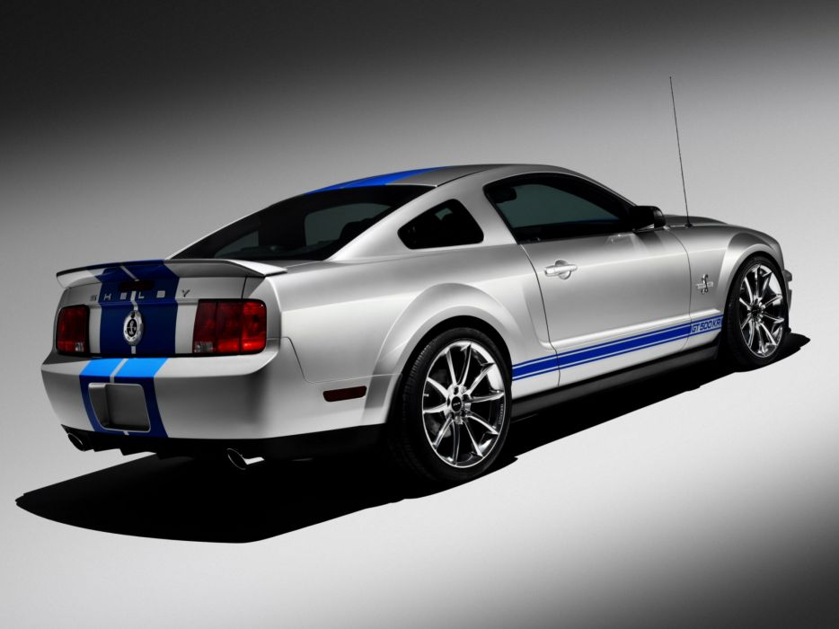 2008 Shelby GT500-KR gt500 ford mustang muscle classic   ds wallpaper
