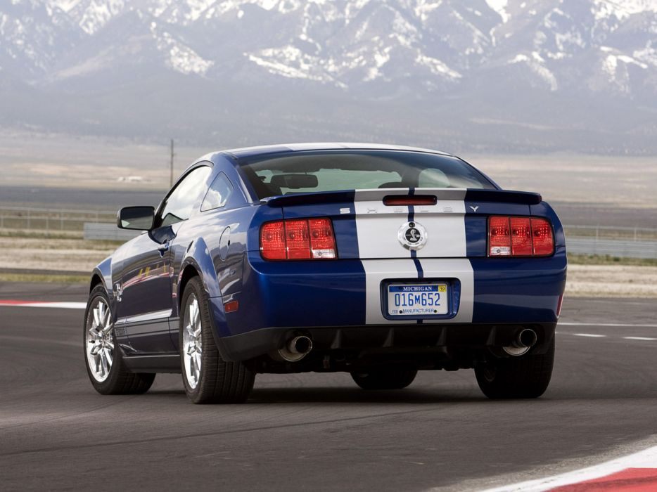 2008 Shelby GT500-KR gt500 ford mustang muscle classic   dw wallpaper