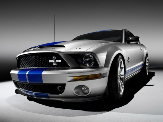 2008 Shelby GT500-KR gt500 ford mustang muscle classic d wallpaper