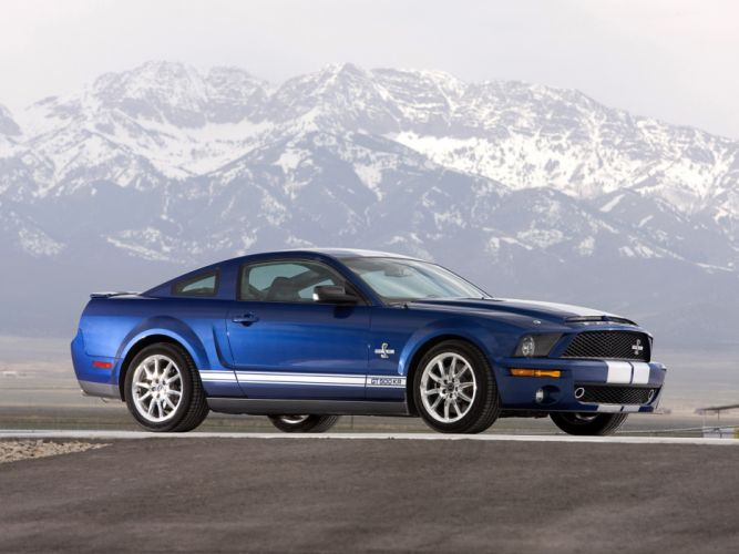 2008 Shelby GT500-KR gt500 ford mustang muscle classic e wallpaper