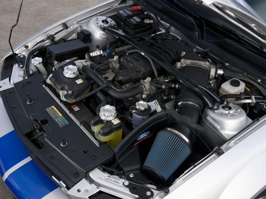 2008 Shelby GT500-KR gt500 ford mustang muscle classic engine engines wallpaper