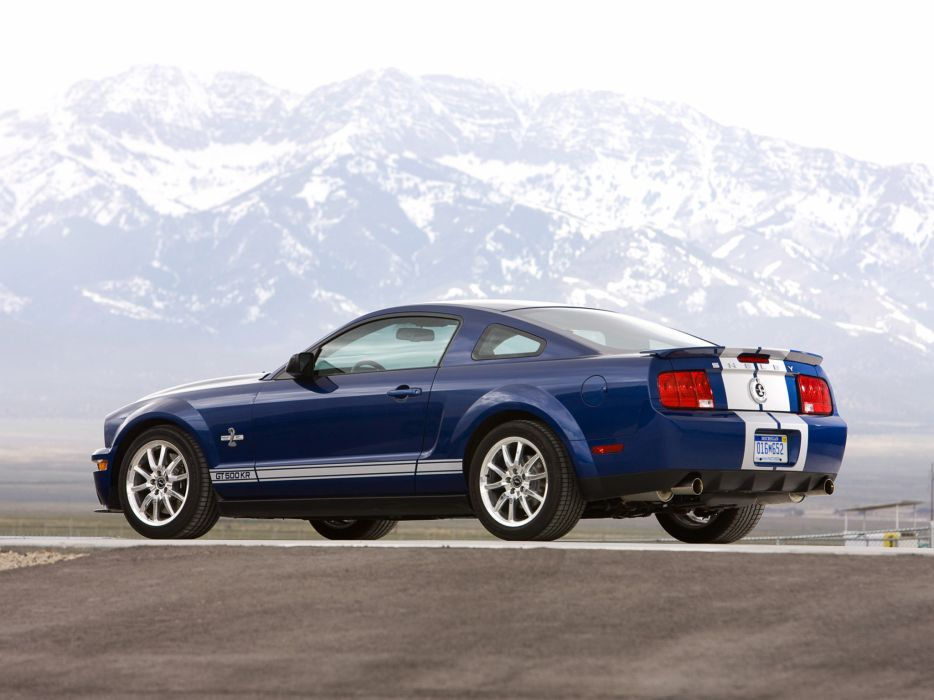 2008 Shelby GT500-KR gt500 ford mustang muscle classic r wallpaper
