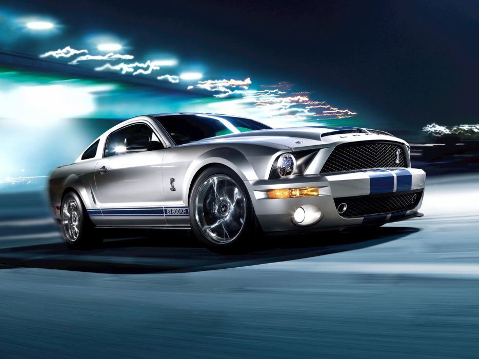 2008 Shelby GT500-KR gt500 ford mustang muscle classic s wallpaper