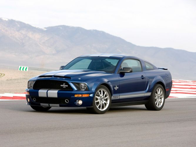 2008 Shelby GT500-KR gt500 ford mustang muscle classic w wallpaper