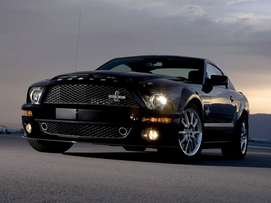 2008 Shelby GT500-KR gt500 ford mustang muscle classic wallpaper