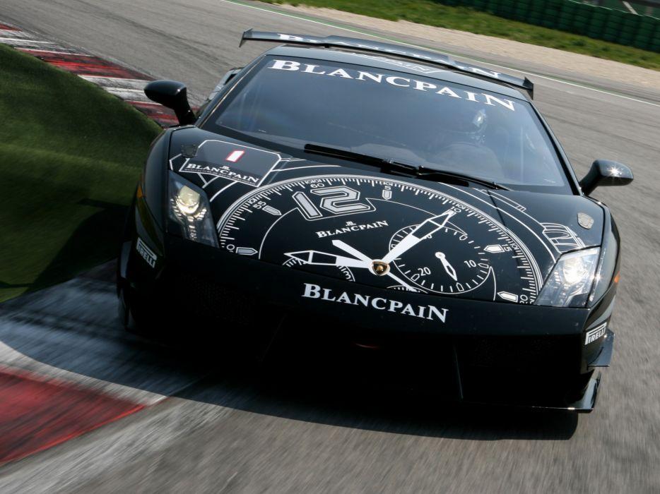2009 Lamborghini Gallardo LP560-4 Super Trofeo supercar supercars race racing      ge wallpaper