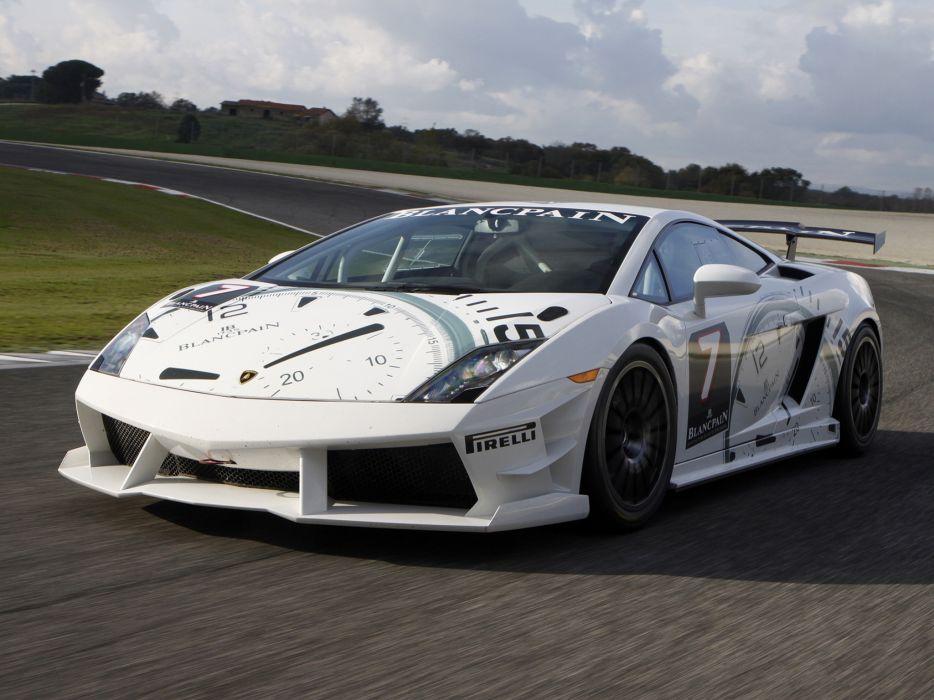 2009 Lamborghini Gallardo LP560-4 Super Trofeo supercar supercars race racing     f wallpaper