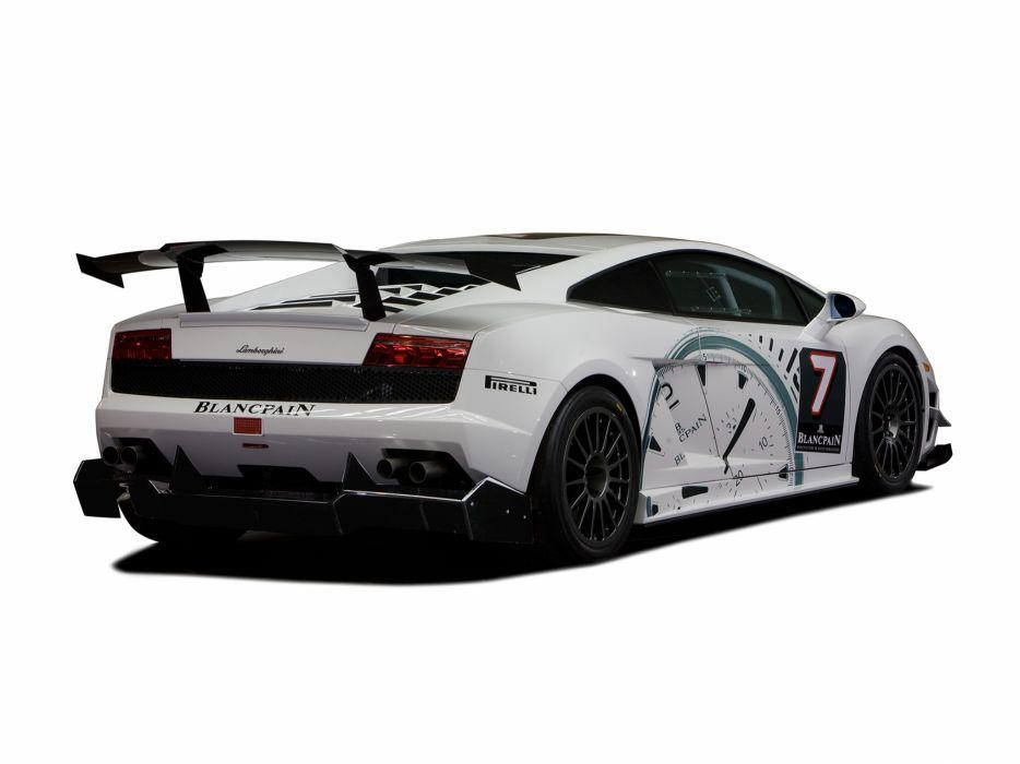 2009 Lamborghini Gallardo LP560-4 Super Trofeo supercar supercars race racing g wallpaper