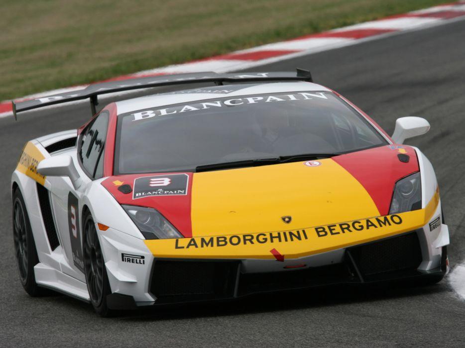 2009 Lamborghini Gallardo LP560-4 Super Trofeo supercar supercars race racing e wallpaper