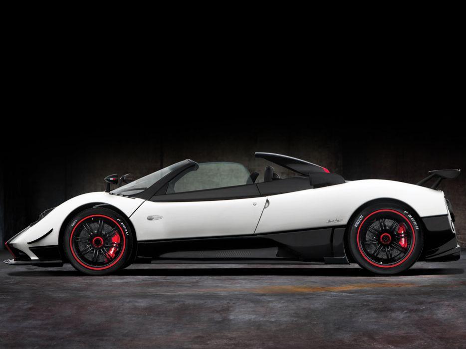 2009 Pagani Zonda Cinque Roadster supercar supercars  f wallpaper