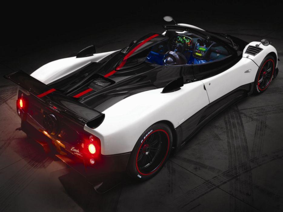 2009 Pagani Zonda Cinque Roadster supercar supercars interior  f wallpaper