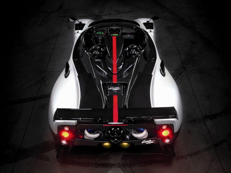2009 Pagani Zonda Cinque Roadster supercar supercars interior  d wallpaper